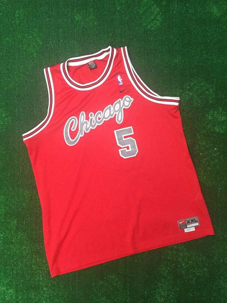 sale retailer 8c962 e5589 Jalen Rose Chicago Bulls Rewind Jersey (Size XXL)