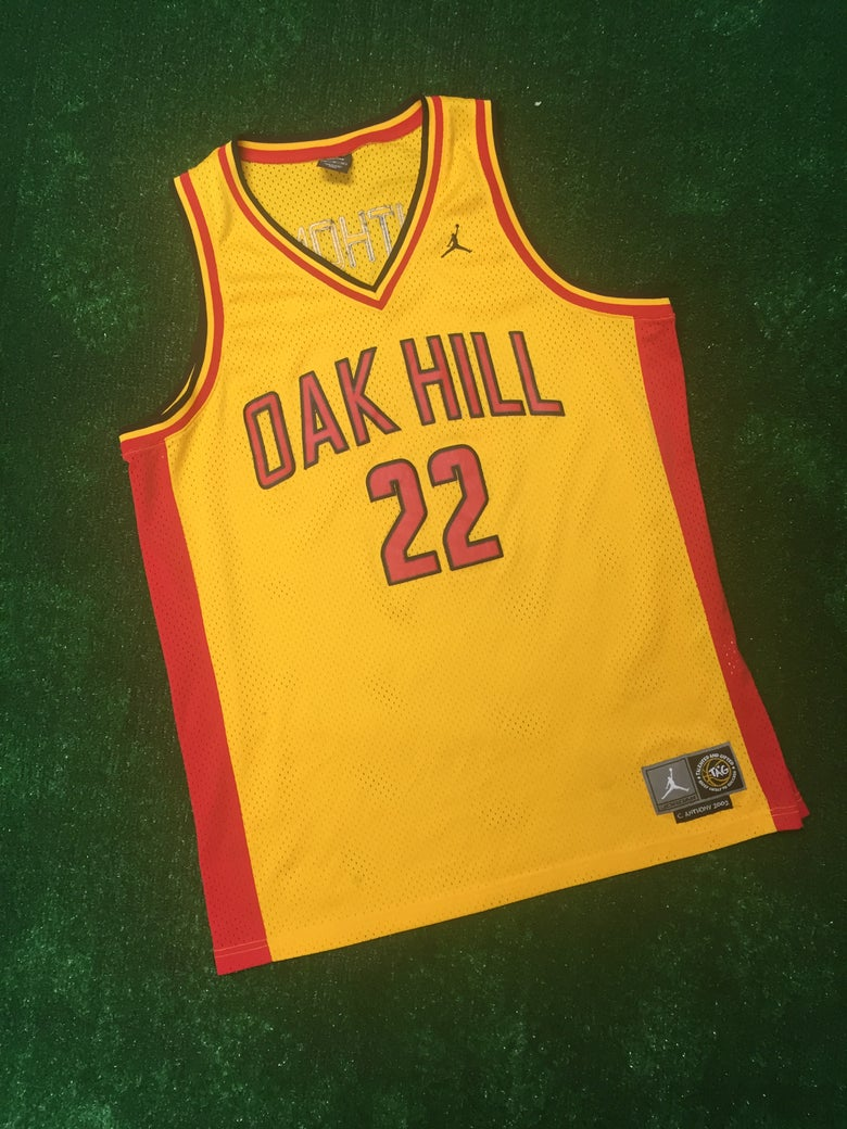 Image of Carmelo Anthony Oak Hill Academy Jordan Brand Jersey (Size XL)