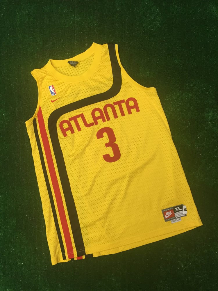 Image of Shareef Abdul Rahim Atlanta Hawks Rewind Jersey (Size XL)
