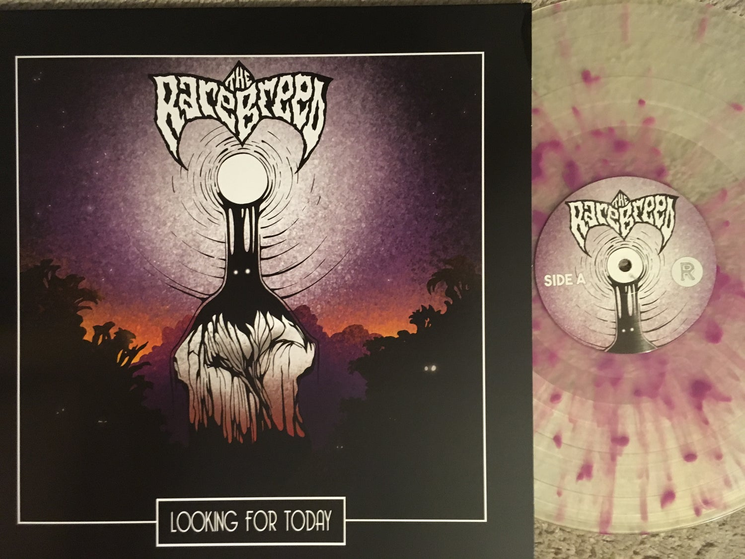 """Image of The Rare Breed - Looking for Today """"Blood Splattered"""" Limited Edition Vinyl LP"""
