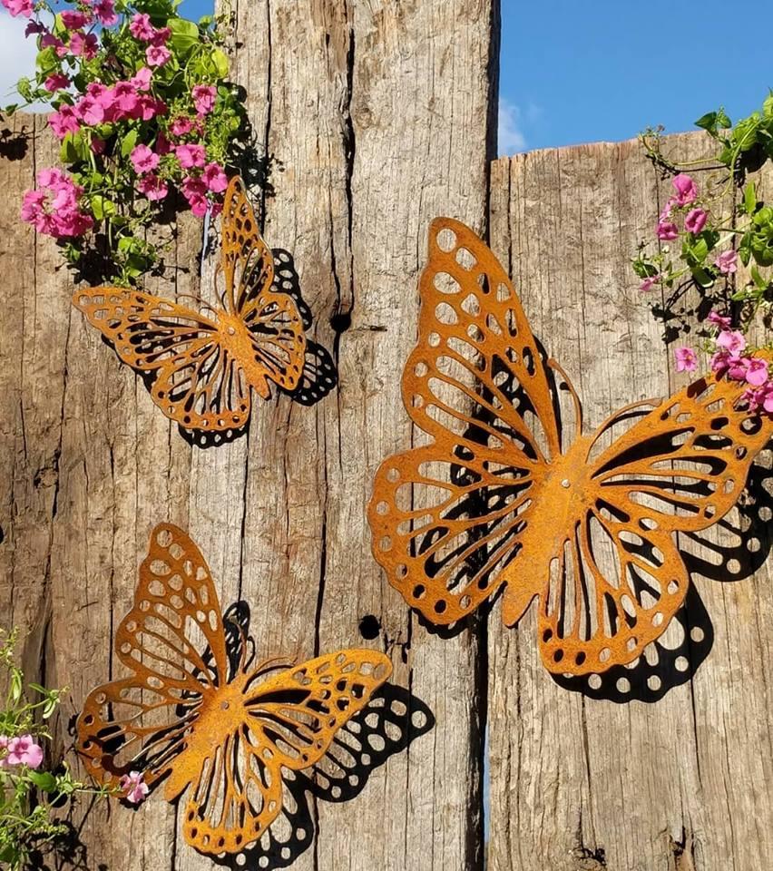 Wall Butterflies - Set of 3