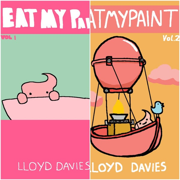 Image of Eatmypaint Volume 1 / Eatmypaint Volume 2