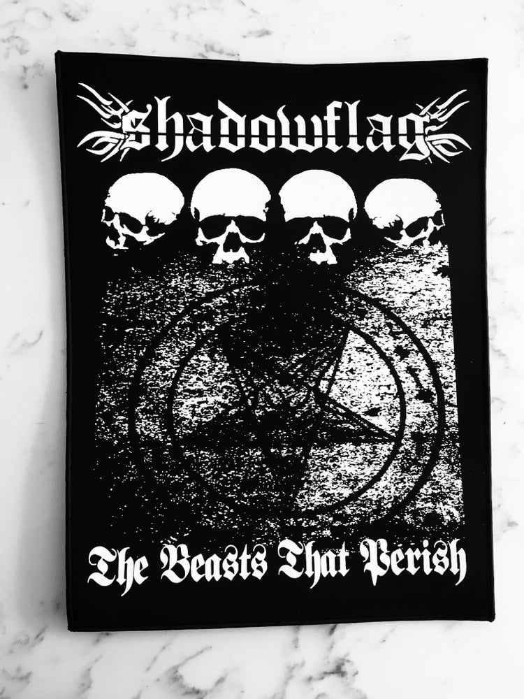 Image of Shadowflag 'Beasts' Back Patch