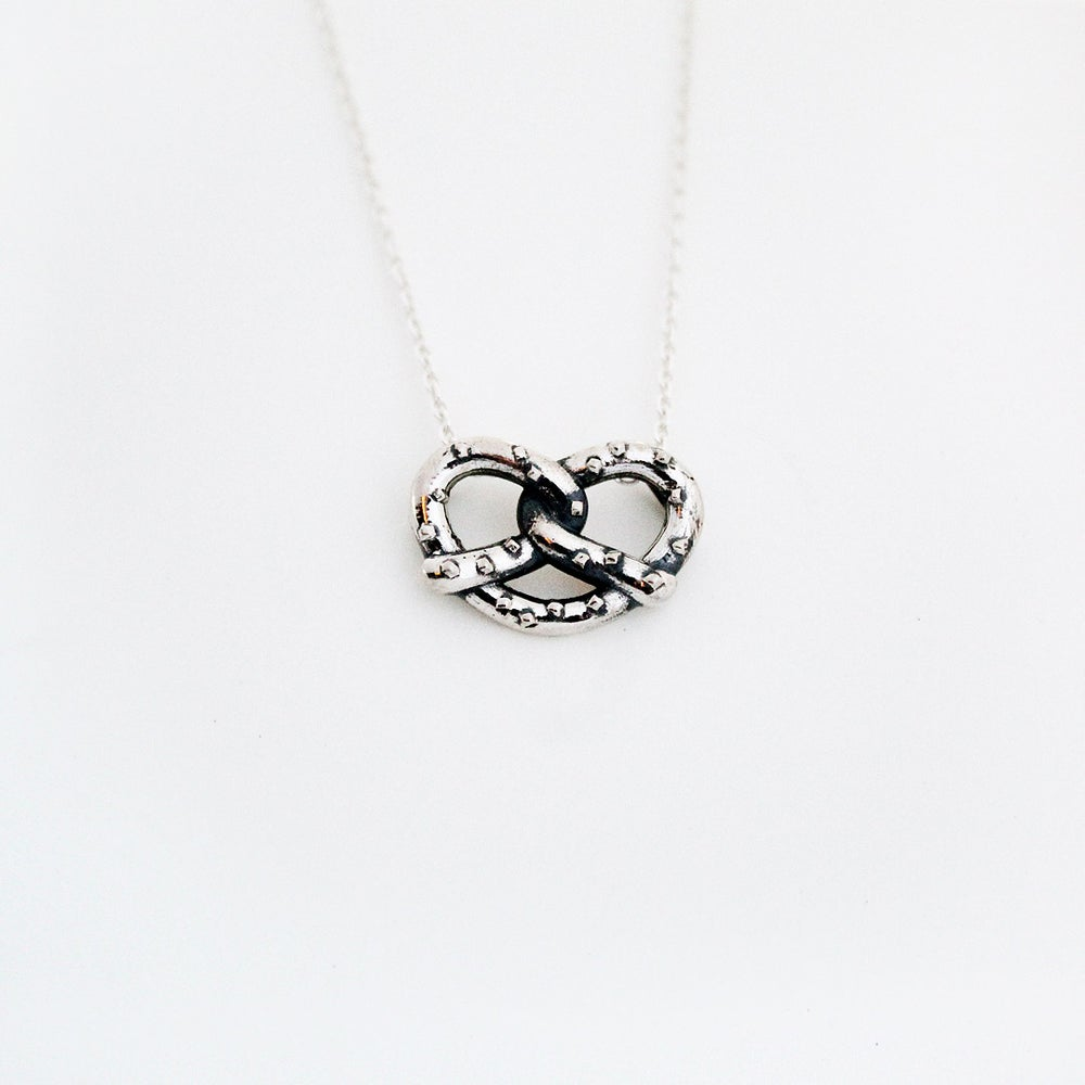 Image of Philly Pretzel Necklace