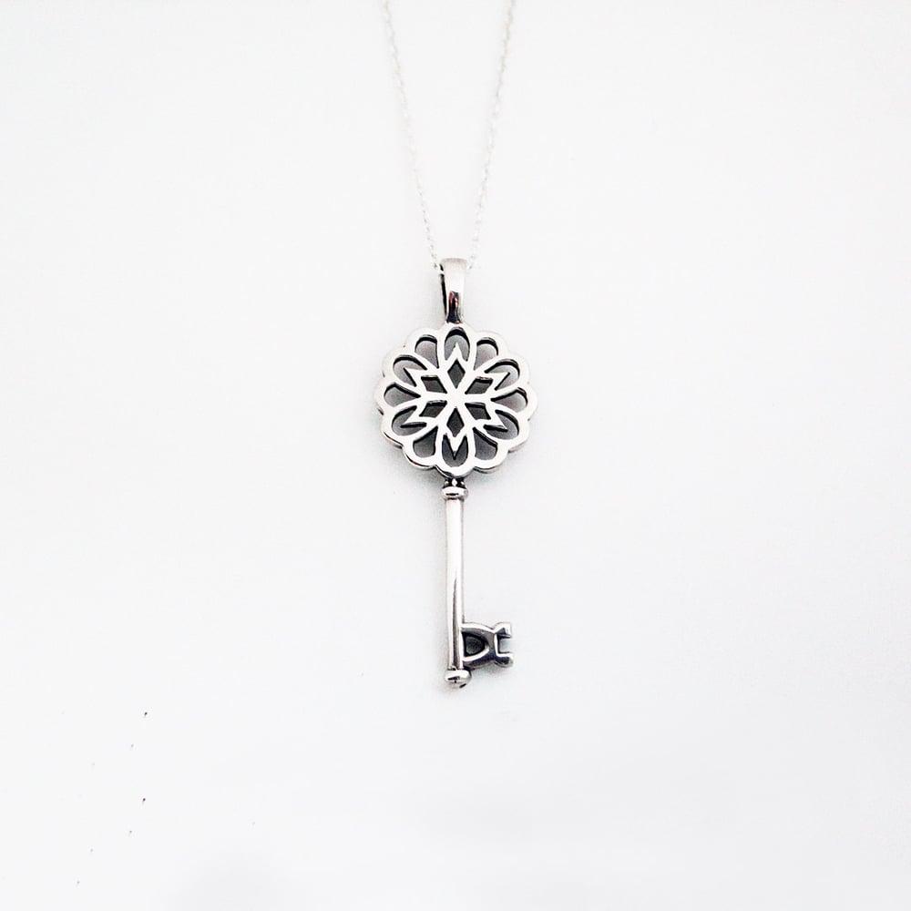 Image of Madison Key Necklace