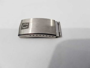 Image of RARE OMEGA COMPLETE GENTS BUCKLE/CLASP,1235/226-37,VERY CLEAN,( CL-2 )