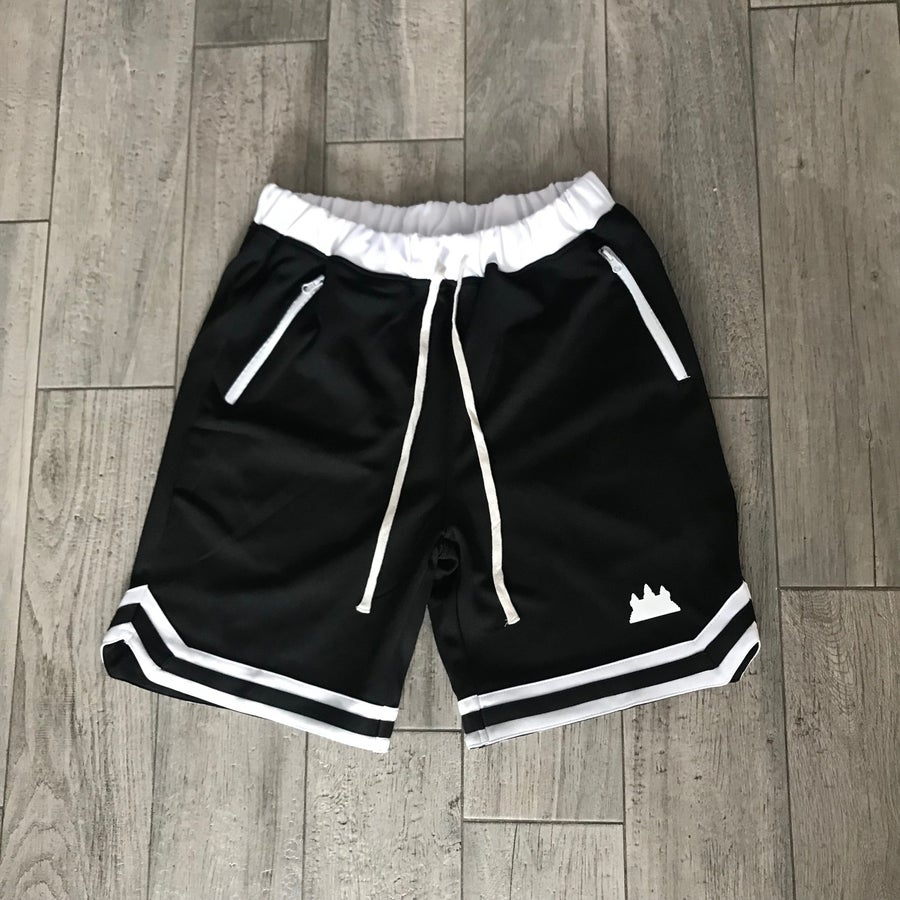 Image of Premium Vintage Basketball Shorts