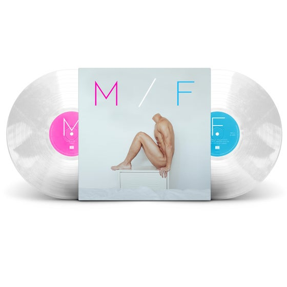 "Image of M/F - *LTD EDITION* 180g ""Frosted Clear"" 2LP Gatefold VINYL w/ 12"" Lyric Book (£25 or £30 SIGNED)"