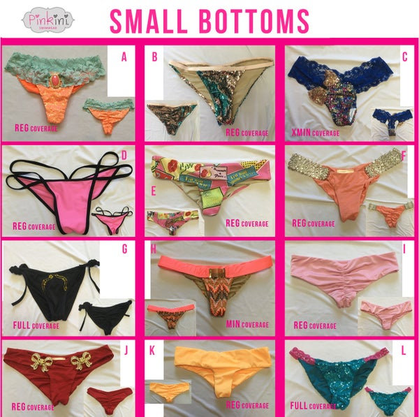 Image of Small Bottoms Set 2
