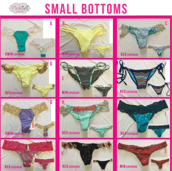 Image of Small Bottoms Set 3