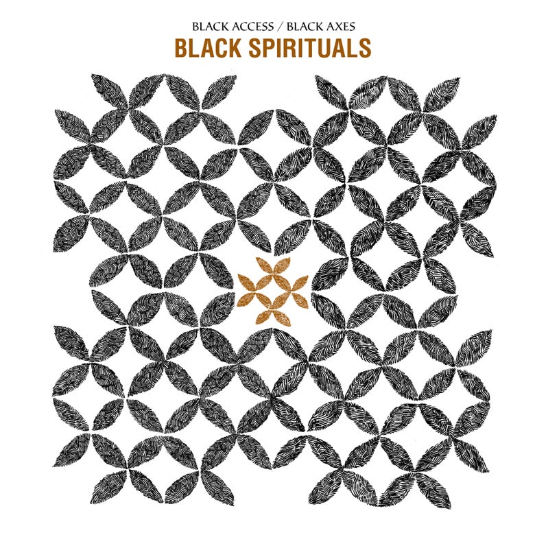 "Image of Black Spirituals ""Black Access/Black Axes"" 2xLP"
