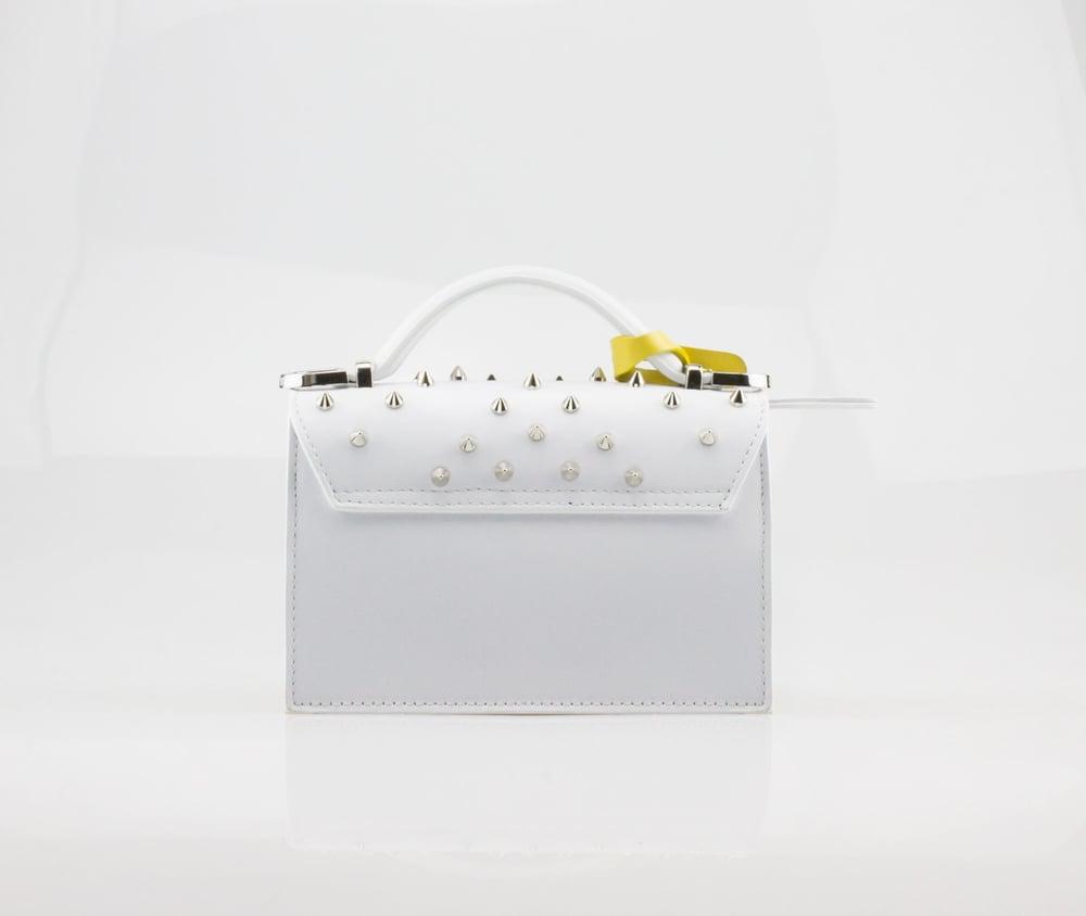 Image of LILY OPTICAL STUDS  Art. 081012-1 White / Yellow
