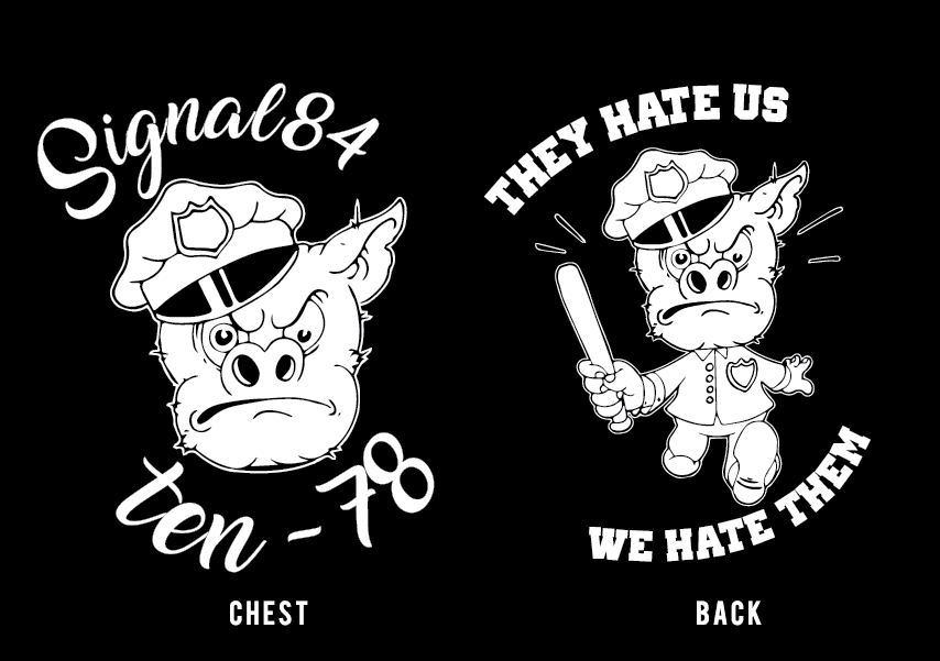 "Image of ""They Hate Us We Hate Them"" - Tee"