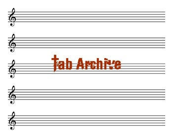 Image of Tab Archive