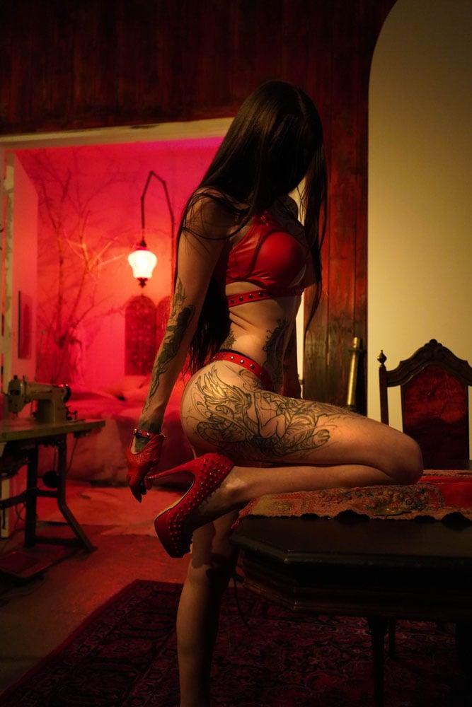 Image of TOXIC VISION El Diablo bikini set