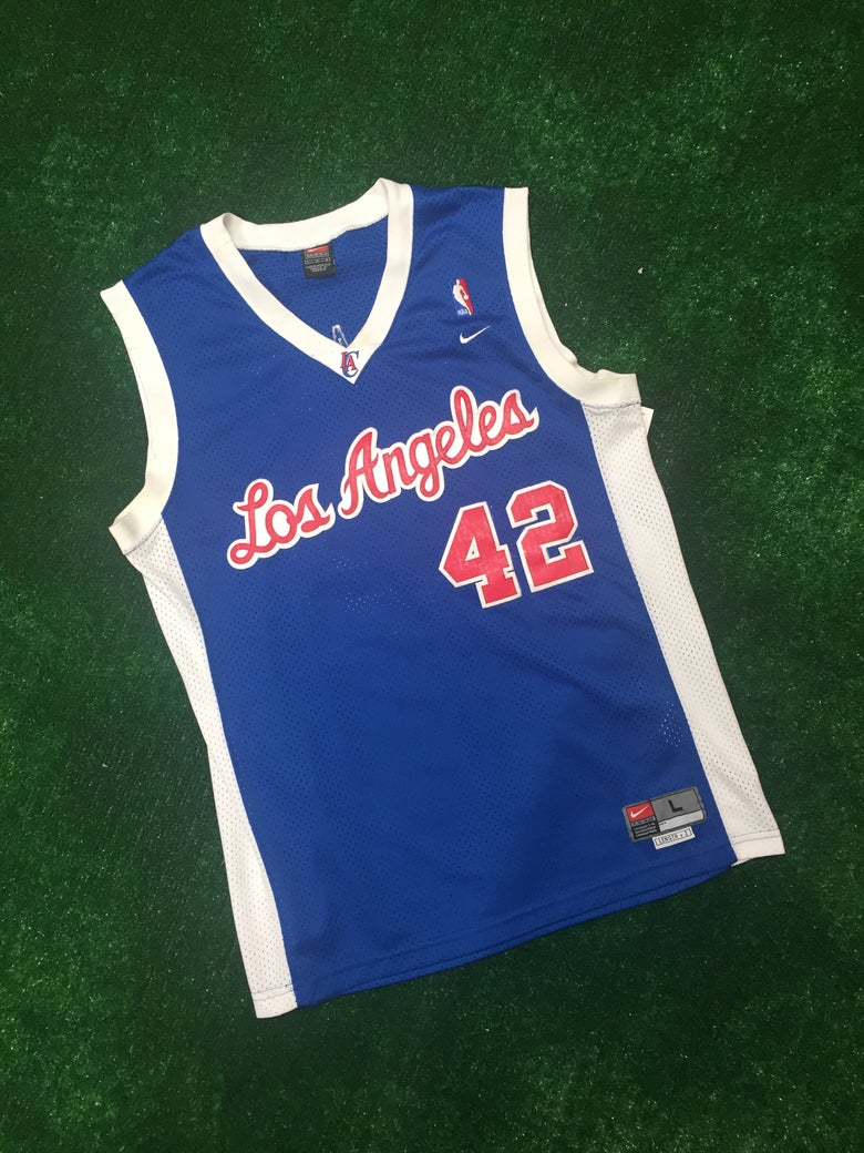 Image of Elton Brand Los Angeles Clippers Jersey (Size Large)