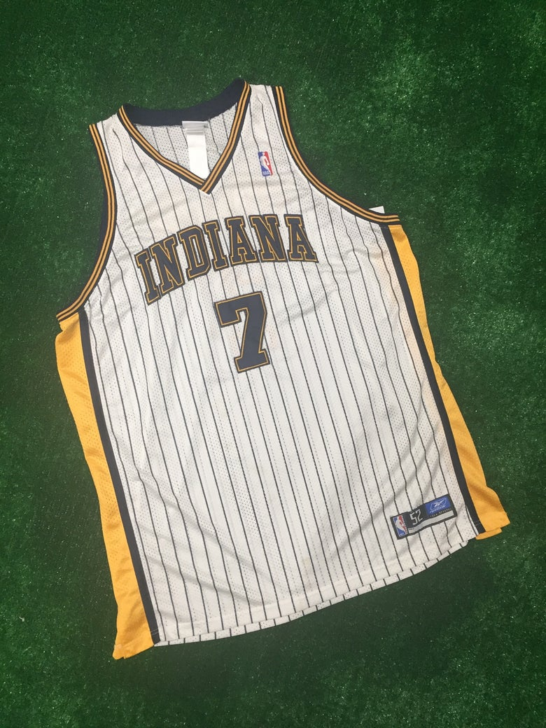 Image of Jermaine O'Neal Authentic Indiana Pacers Jersey (Size 52)