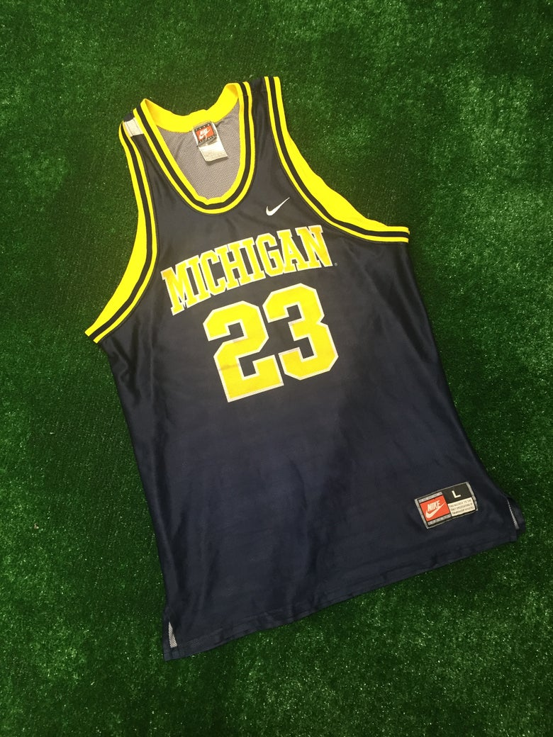 Image of Maurice Taylor Michigan Wolverines Jersey (Size Large)