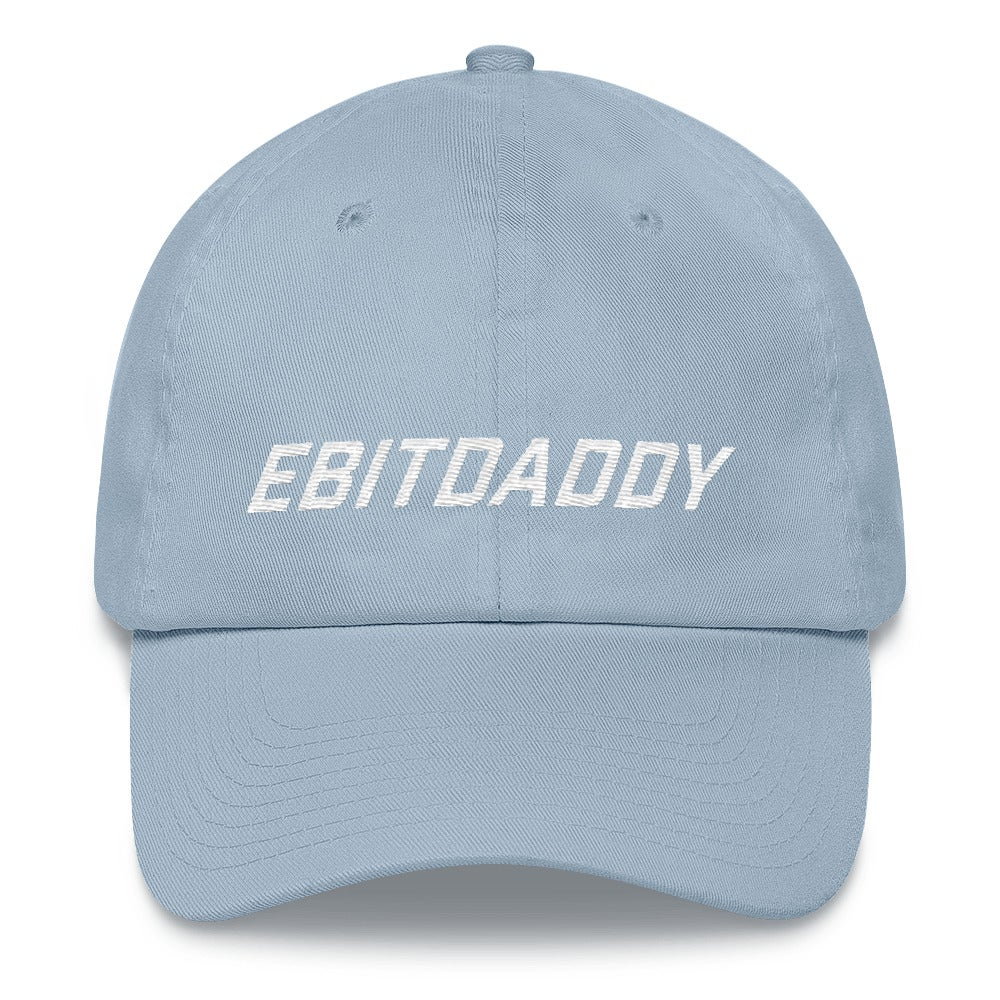 Image of ebitdaddy dad hat (blue)