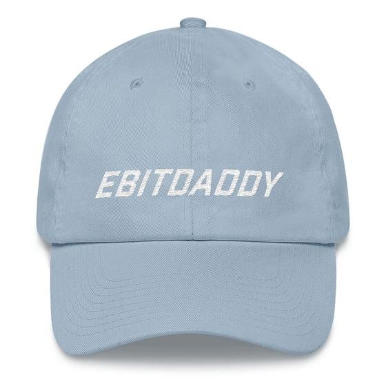 Image of ebitdaddy dad hat (blue)