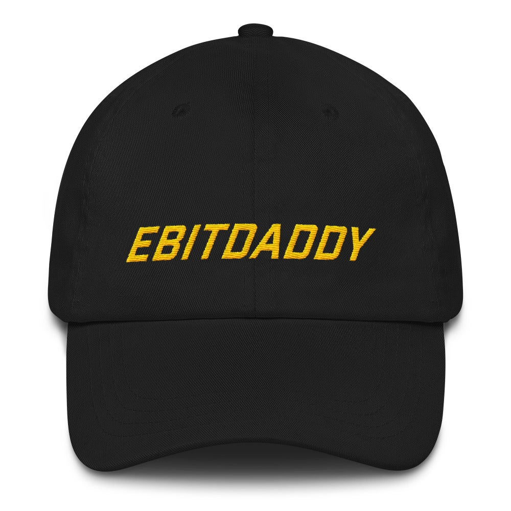 Image of ebitdaddy dad hat (black)