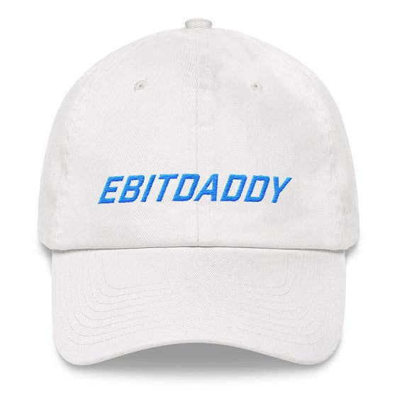 Image of ebitdaddy dad hat (white)