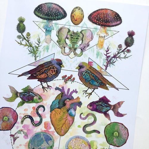 Image of Limited Edition 'Meet My Maker #2' Print
