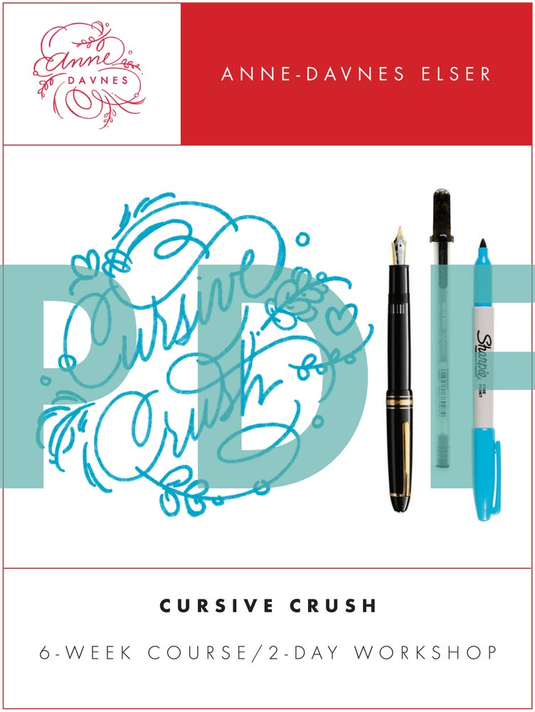 Image of Cursive Crush 2.0 Exemplar PDF Download
