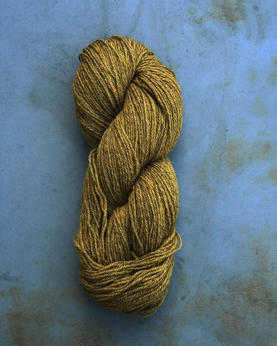 Image of LAMBSWOOL 9/3 - MØRK MESSING (30)