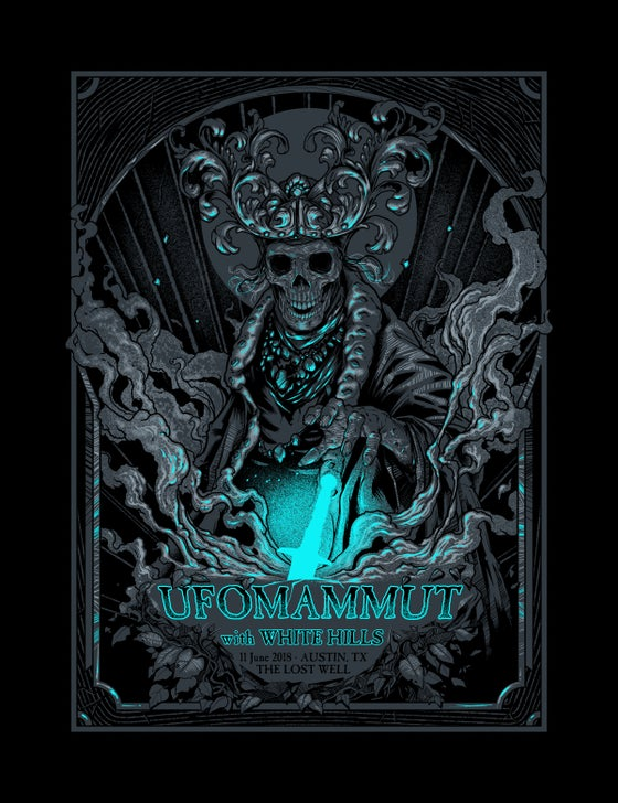 Image of Ufomammut gig poster