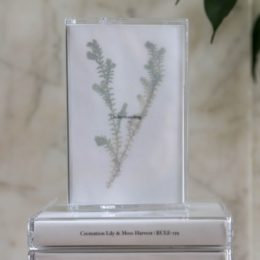 Image of Cremation Lily & Moss Harvest - 'Understanding' Tape Loop