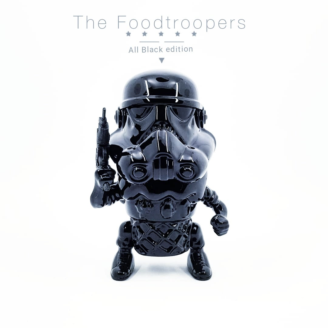 """Image of The Foodtroopers """"All black edition"""""""