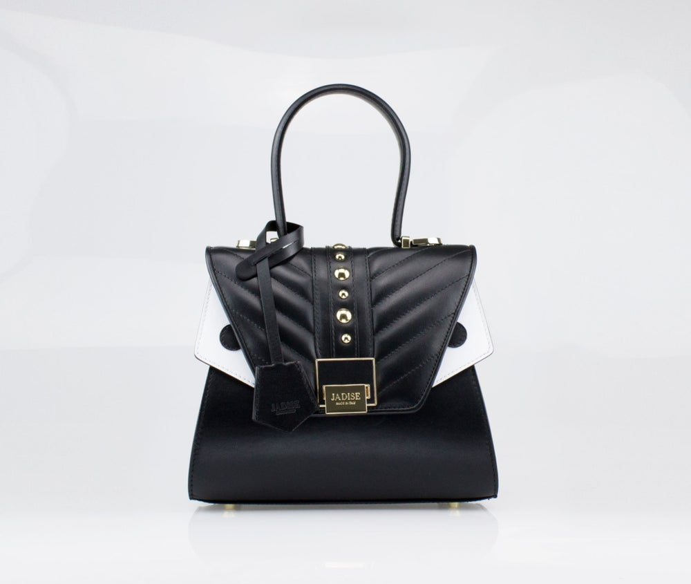 Image of SALE 30%  SABRINA SMALL TRAPUNTATO  Art. 025100-1 Black