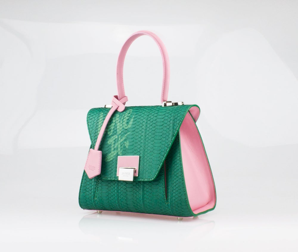 Image of SABRINA SMALL LOVE IT  Art. 025066-2 Pink / Green