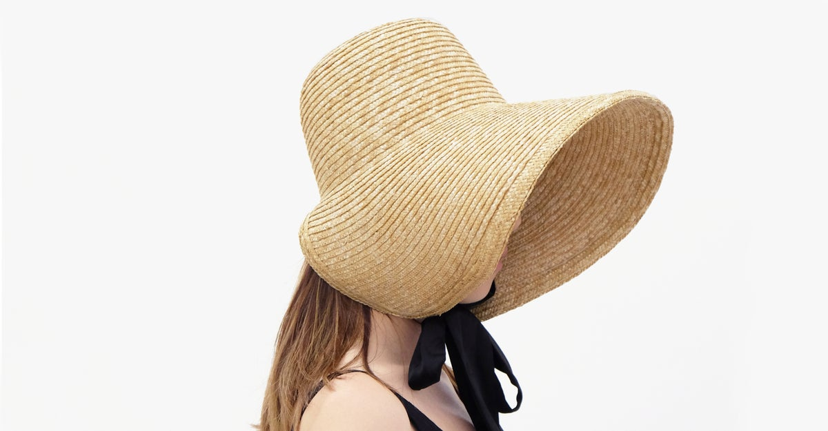 Image of Straw Brim Hat - 004