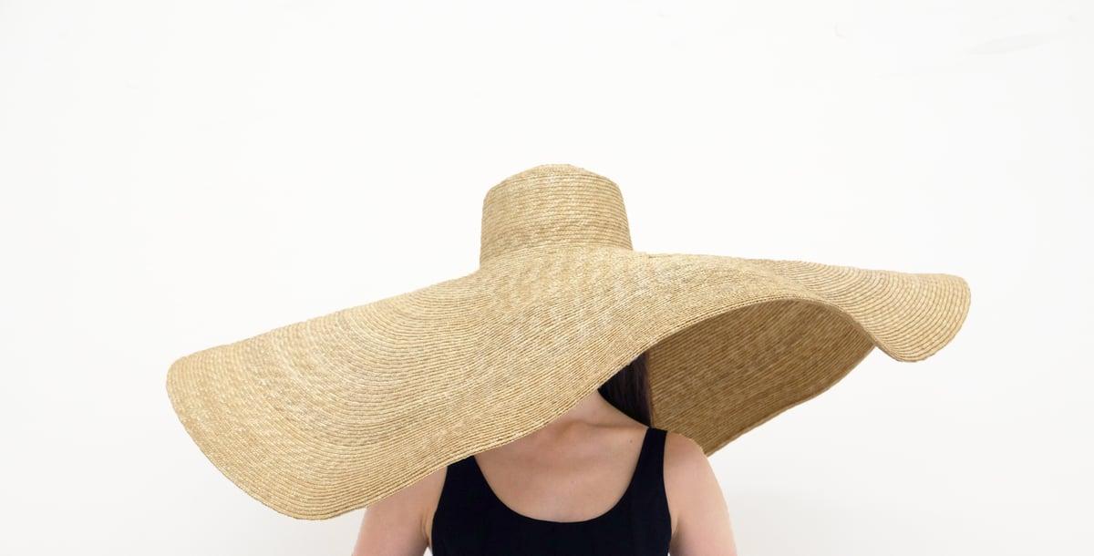 Image of Straw Brim Hat - 002