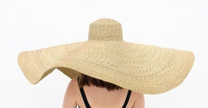 Image of Straw Brim Hat - 002