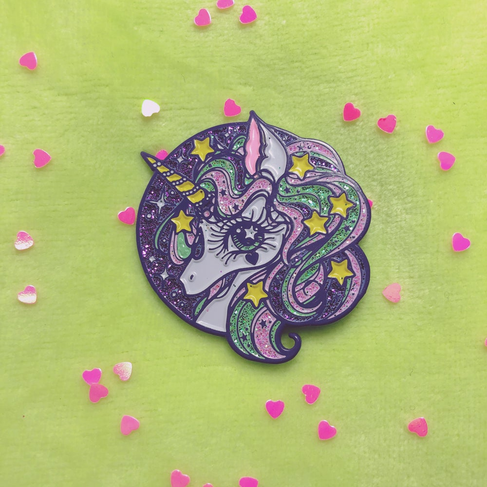 Image of MAGICAL UNICORN 🦄 ENAMEL PIN