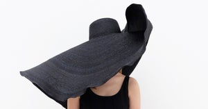 Image of Straw Brim Hat - 006