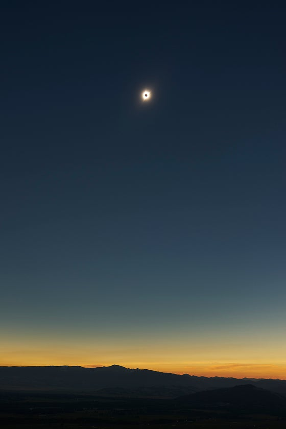 Image of Totality - Solar Eclipse 2017