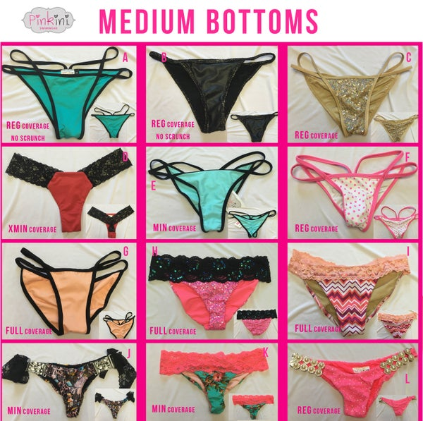 Image of Medium Bottoms Set 3