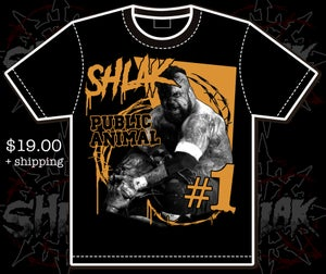 Image of PUBLIC ANIMAL t-shirt pre sale