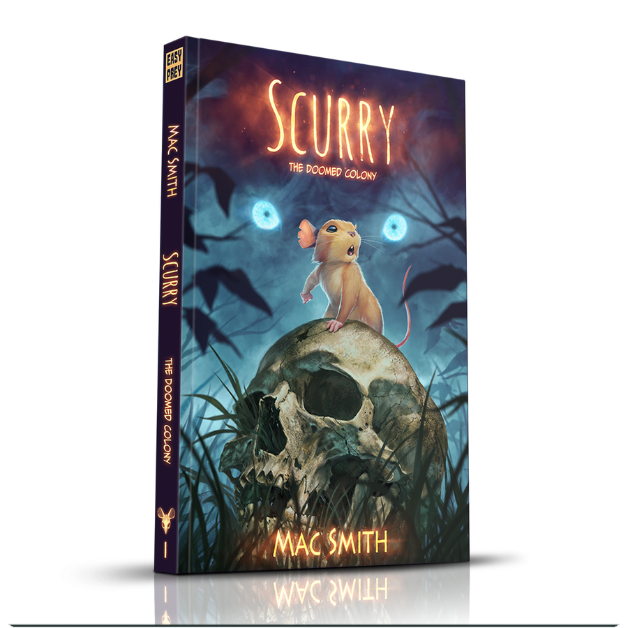 Image of Scurry Book 1: The Doomed Colony (Hardcover) <s>$35</s>
