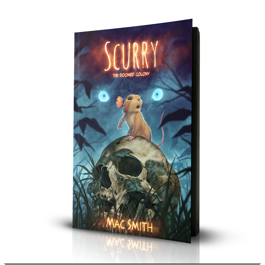 Image of Scurry Book 1: The Doomed Colony (Paperback) <s>$25</s>