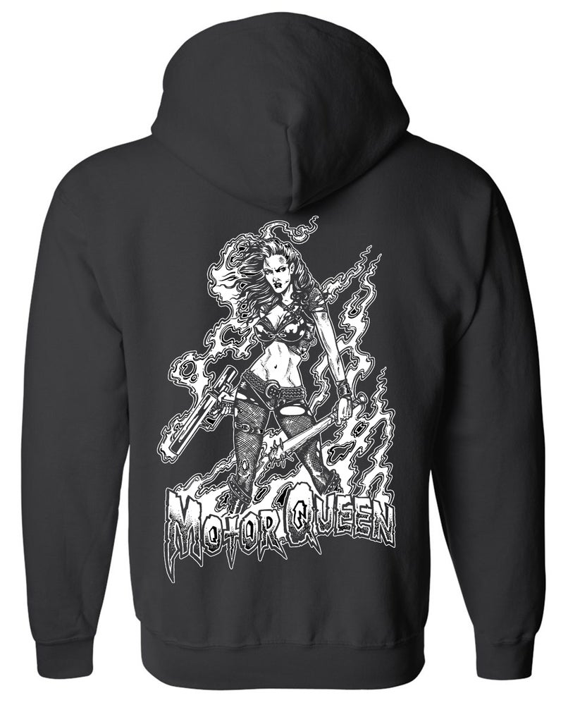 "Image of OFFICIAL - BEASTO BLANCO - 2018 - ""MOTORQUEEN"" HOODIE"