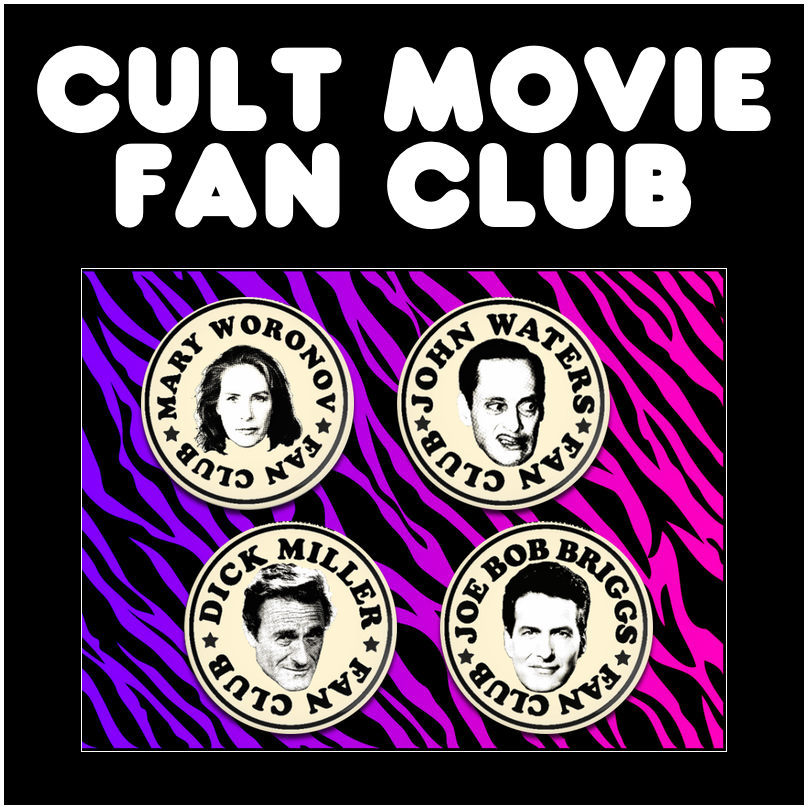 Image of Cult Movie Fan Club pins!
