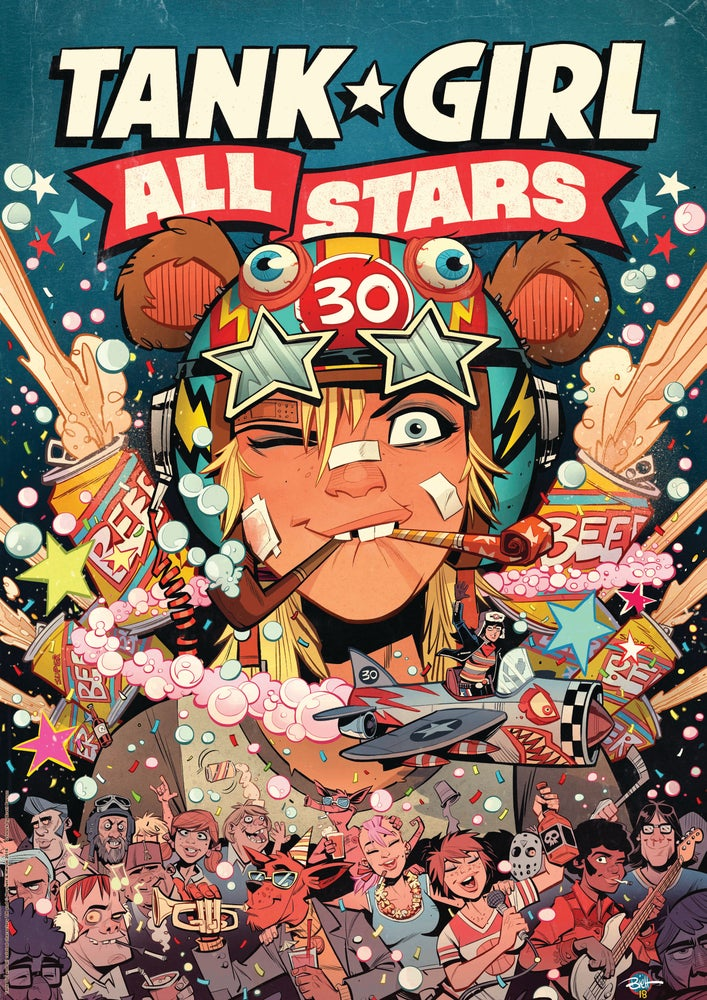 Image of EXCLUSIVE - Tank Girl All Stars - Greg Staples Variant