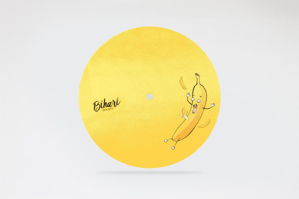 """Image of Slippery Banana 7"""" slipmat"""