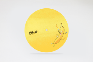 "Image of Slippery Banana 7"" Premium Slipmat by Bihari"