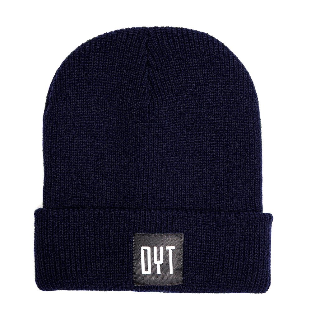 Image of BEANIE DYT BLU